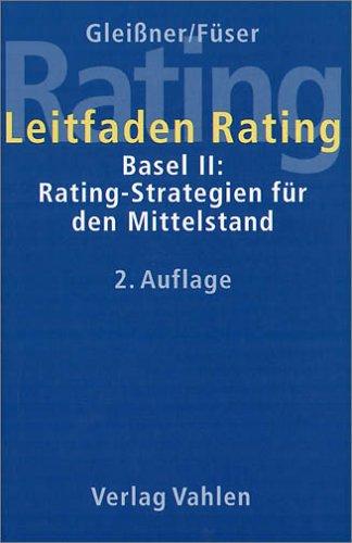 Buch Leitfaden Rating