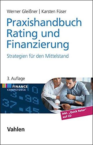 Buch Praxishandbuch Rating und Finanzierung